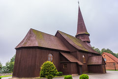 Igreja no Polônia Imagem de Stock
