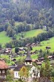 Igreja no vale Foto de Stock Royalty Free