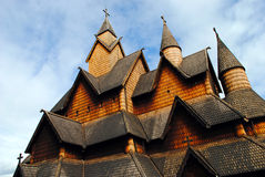 Igreja norueguesa do stave Imagem de Stock