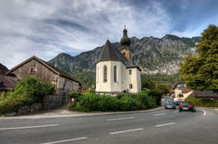 Igreja nos cumes Imagem de Stock Royalty Free
