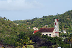 Igreja nos tropics Foto de Stock Royalty Free