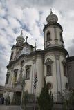 A igreja Nossa Senhora faz Brasil foto de stock