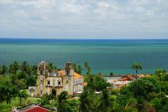Igreja Nossa Senhora font Carmo. Olinda, Pernambuco, Brésil Photographie stock libre de droits