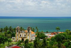 Igreja Nossa Senhora hace a Carmen. Olinda, Pernambuco, el Brasil Fotografía de archivo libre de regalías
