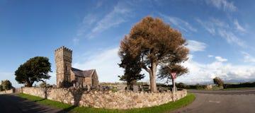 Igreja nova de Llanidan Imagens de Stock Royalty Free