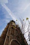 Igreja nova em Delft, os Países Baixos foto de stock