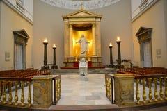 Igreja onde o príncipe herdeiro Frederik e Mary se casou imagem de stock