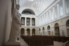Igreja onde o príncipe herdeiro Frederik e Mary se casou imagem de stock royalty free