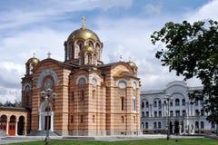 Igreja ortodoxa Fotografia de Stock