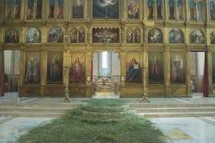 A igreja ortodoxa Fotos de Stock