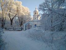A igreja ortodoxa Imagem de Stock