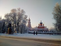 A igreja ortodoxa Imagem de Stock Royalty Free