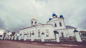 A igreja ortodoxa vídeos de arquivo