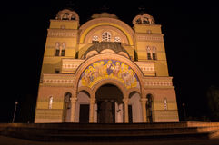 Igreja ortodoxa Apatin foto de stock royalty free