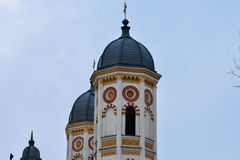 Igreja ortodoxa bonita Imagem de Stock Royalty Free