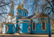 Igreja ortodoxa cristã Foto de Stock Royalty Free