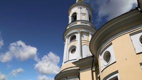 Igreja ortodoxa da mãe da alegria do ` do deus de tudo que ` da amargura, Bolshaya Ordynka, Moscou, Rússia filme