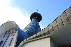 A igreja ortodoxa da trindade santamente em Hajnowka Imagens de Stock