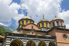 Igreja ortodoxa de Rila, Bulgária fotos de stock