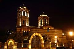 Igreja ortodoxa de São Nicolau Imagem de Stock Royalty Free