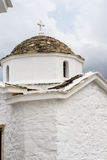 Igreja ortodoxa de Skopelos Imagem de Stock Royalty Free