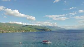 Igreja ortodoxa de St John em Ohrid vídeos de arquivo