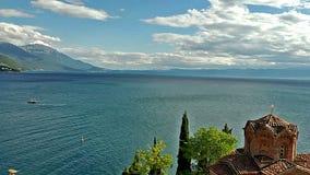Igreja ortodoxa de St John em Ohrid filme