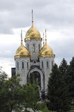 Igreja ortodoxa de todos os Saint em Volgograd, Rússia Fotos de Stock Royalty Free