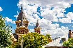 Igreja ortodoxa do Belvedere fotos de stock royalty free