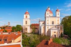 Igreja ortodoxa do Espírito Santo vilnius lithuania fotografia de stock royalty free
