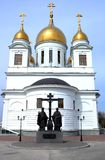 Igreja ortodoxa do russo fotos de stock
