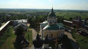 Igreja ortodoxa do russo vídeos de arquivo