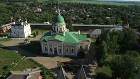 Igreja ortodoxa do russo video estoque