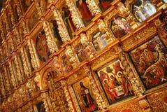 Igreja ortodoxa do russo   Fotos de Stock Royalty Free
