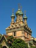 Igreja ortodoxa do russo da natividade 01 Foto de Stock