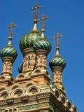 Igreja ortodoxa do russo da natividade 02 Imagem de Stock