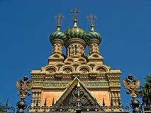 Igreja ortodoxa do russo da natividade 03 Fotografia de Stock