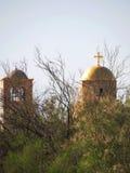 Igreja ortodoxa em Bethany Beyond Jordânia fotografia de stock royalty free