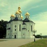 Igreja ortodoxa em Chernigiv, Ucrânia fotos de stock royalty free