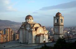 Igreja ortodoxa em Kosovo foto de stock