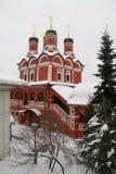 Igreja ortodoxa em Moscovo Imagens de Stock Royalty Free