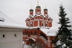 Igreja ortodoxa em Moscovo Fotografia de Stock Royalty Free