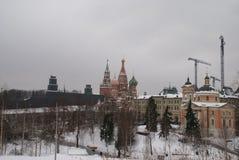 Igreja ortodoxa em Moscovo Foto de Stock Royalty Free