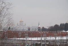 Igreja ortodoxa em Moscovo Imagens de Stock