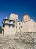 Igreja ortodoxa em Mt Athos Foto de Stock Royalty Free