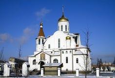 Igreja ortodoxa em Rússia Fotografia de Stock