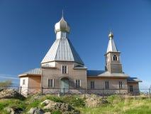 Igreja ortodoxa em Rússia Fotografia de Stock Royalty Free
