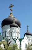Igreja ortodoxa em St Petersburg Fotos de Stock Royalty Free