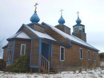 Igreja ortodoxa grega Foto de Stock