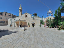 Igreja ortodoxa grega do aviso, Nazareth Fotos de Stock